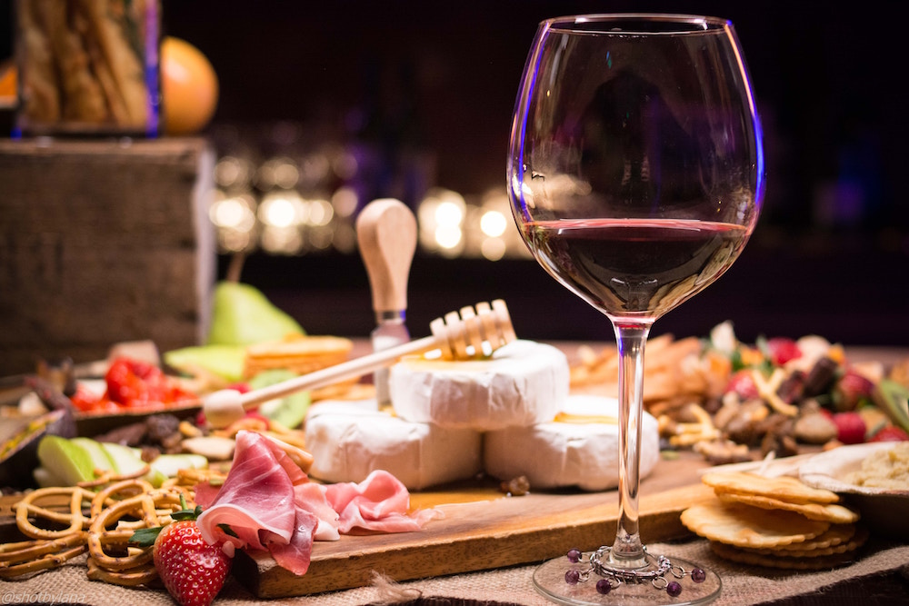 wine and cheese plate in sydney Australia