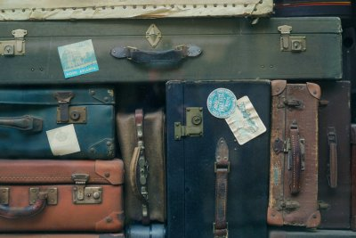 vintage luggage suitcases